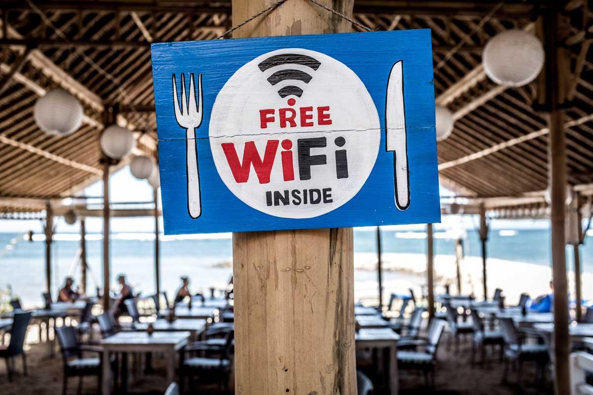 Cafeterías y Restaurantes con WIFI gratis en Jávea